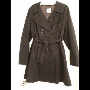Old navy black coat.
